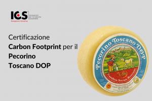 Certificazione Carbon Footprint per il Pecorino Toscano DOP