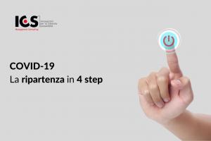 Covid-19: la ripartenza in 4 step