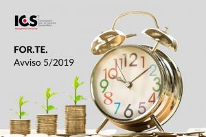Avviso di Sistema 5/2019 FOR.TE. – Promozione di Piani aziendali Settoriali e Territoriali – Comparto Altri Settori Economici