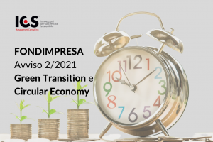 Pubblicato l'Avviso 2/2021 Fondimpresa – Formazione continua a sostegno della Green Transition e della Circular Economy